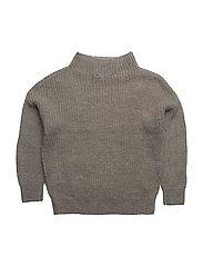 Jr Vicki Sweater - GREY MELANGE