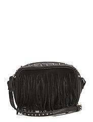 LR Stud Shoulder Bag - BLACK