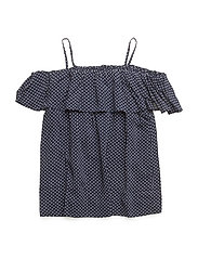 LR Rion Ruffle Top - DOTS