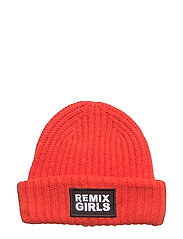 LR Sydni Badge Hat - RED