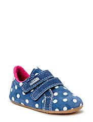 Babyslipper Dots - jeans