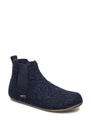 Chelsea Boots uni - NACHTBLAU