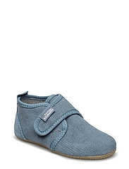 Baby shoe with velcro - JEANS