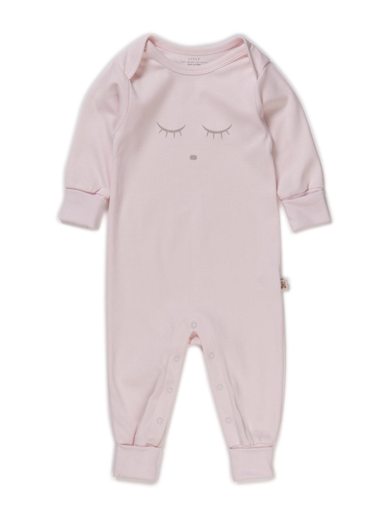 Sleeping Cutie Coverall Livly Langærmede bodies til Børn i