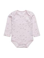 body - BABY PINK/ GREY STARS