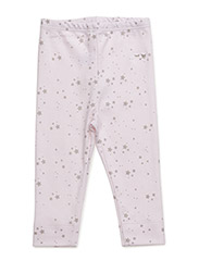 essential legging - BABY PINK/ GREY STARS