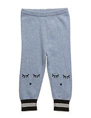cashmere pants - BLUE/ SLEEPING CUTIE