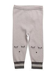 cashmere pants - CREAM/ SLEEPING CUTIE