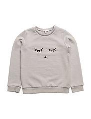 sweatshirt - SLEEPING CUTIE/ICE BLUE