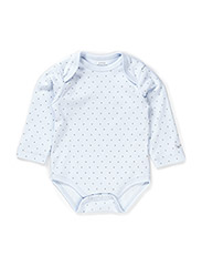 saturday body - BABY BLUE/SILVER DOTS