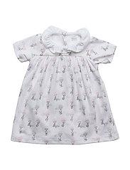 baby collar dress - PINK ELEPHANT