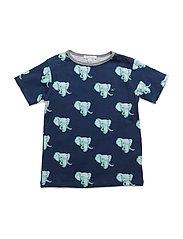 t-shirt - NAVY ELEPHANTS