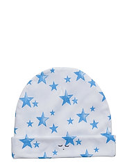 ninni hat - NEON BLUE STARS