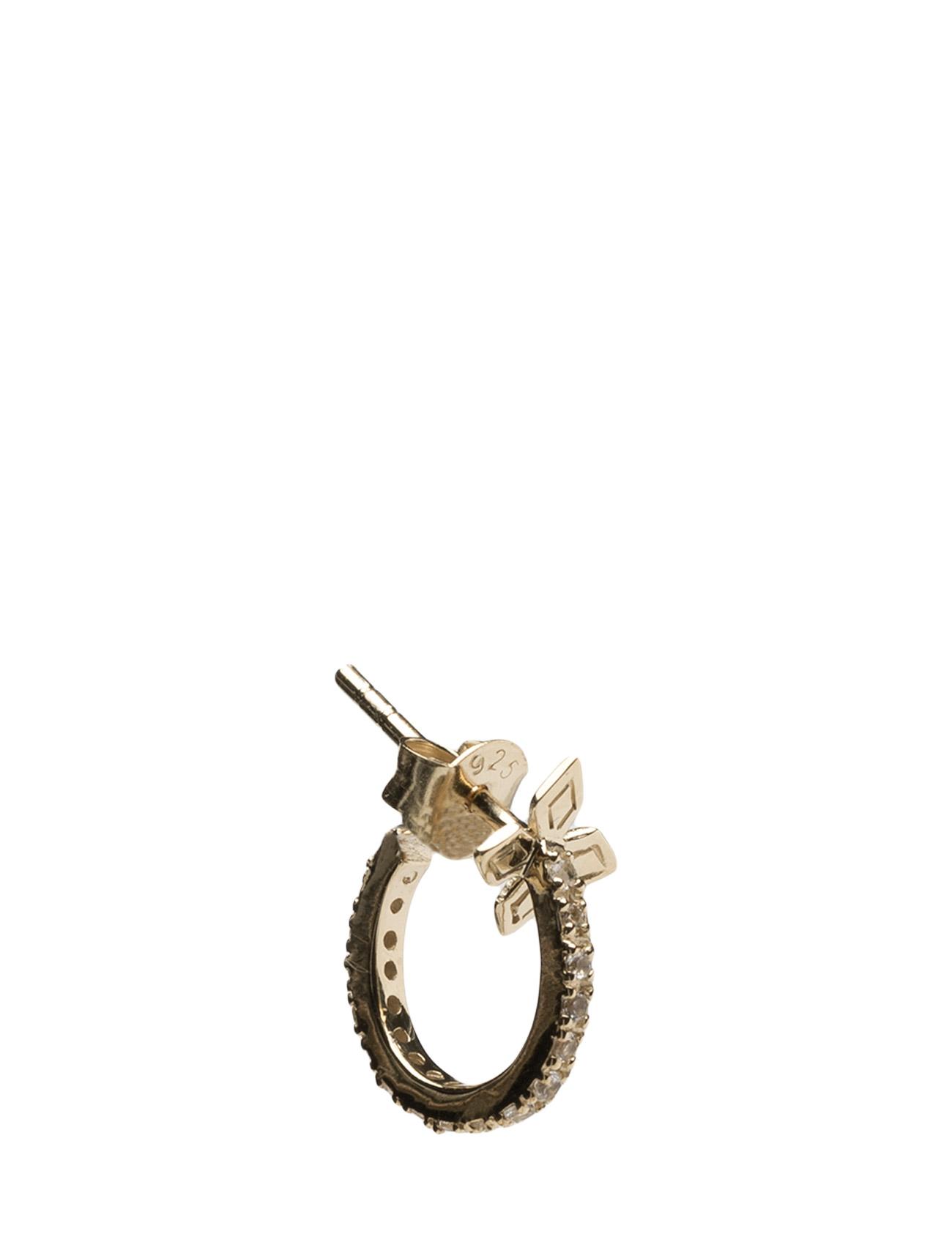 French Stone Earring Pcs Lola's Love Smykker til Damer i Guld