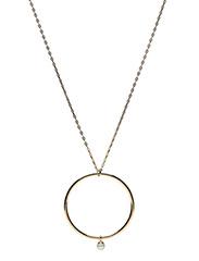 Lola's Love - Hoop Pearl Necklace