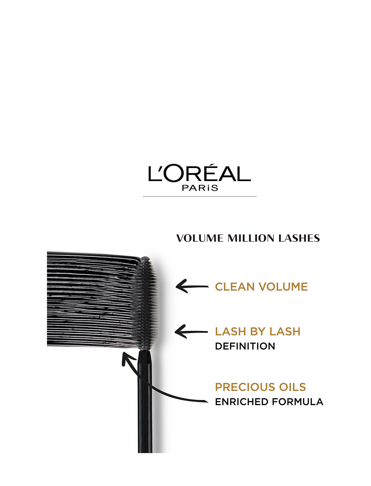 l'orã©al paris – Volume million lashes mascara på boozt.com dk