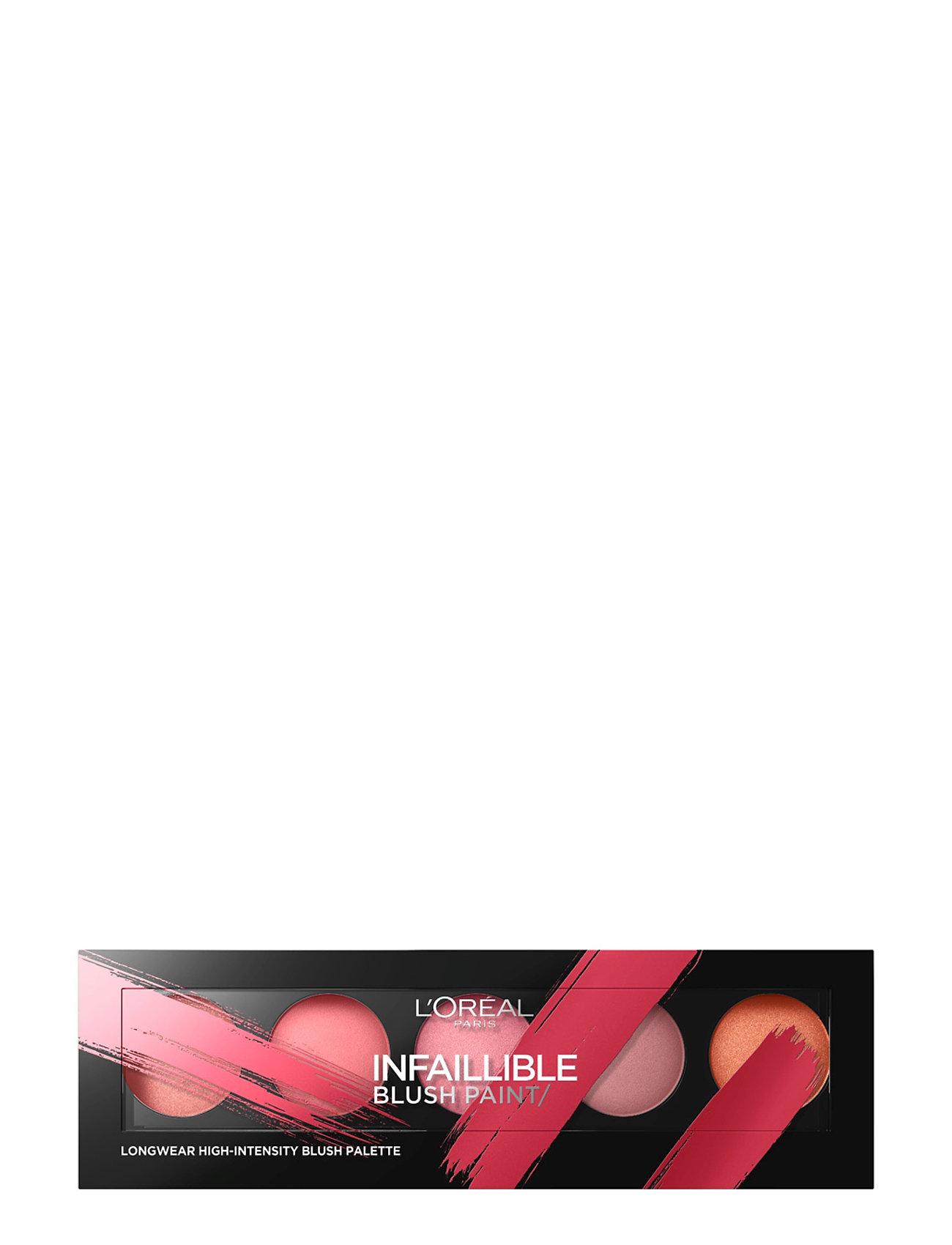Infallible blush paint palette fra l'orã©al paris på boozt.com dk