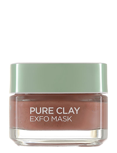 PURE CLAY EXFOLIATING MASK - CLEAR