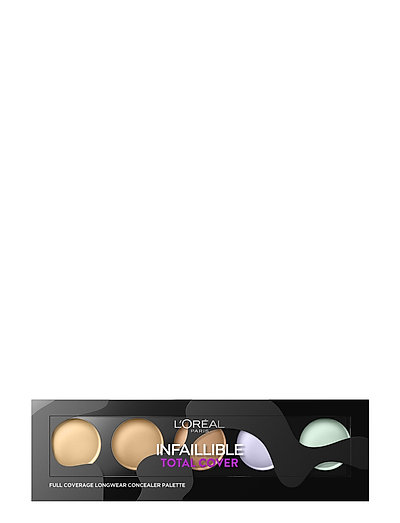 Infallible Total Cover Concealer Palette - NATURAL