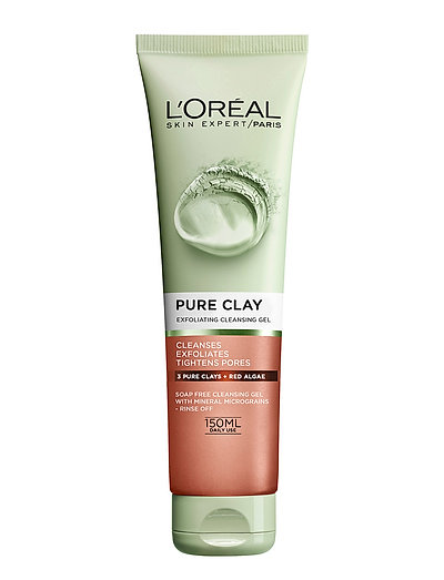 PURE CLAY EXFOLIATING SCRUB - CLEAR