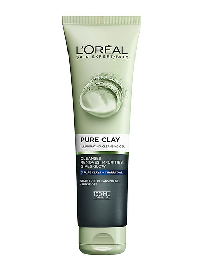 PURE CLAY GLOW SCRUB - CLEAR