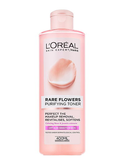 RARE FLOWER CLEANSING TONER DRY SKIN, 400 ML - CLEAR