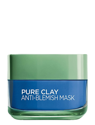 PURE CLAY ANTI-BLEMISH MASK - CLEAR