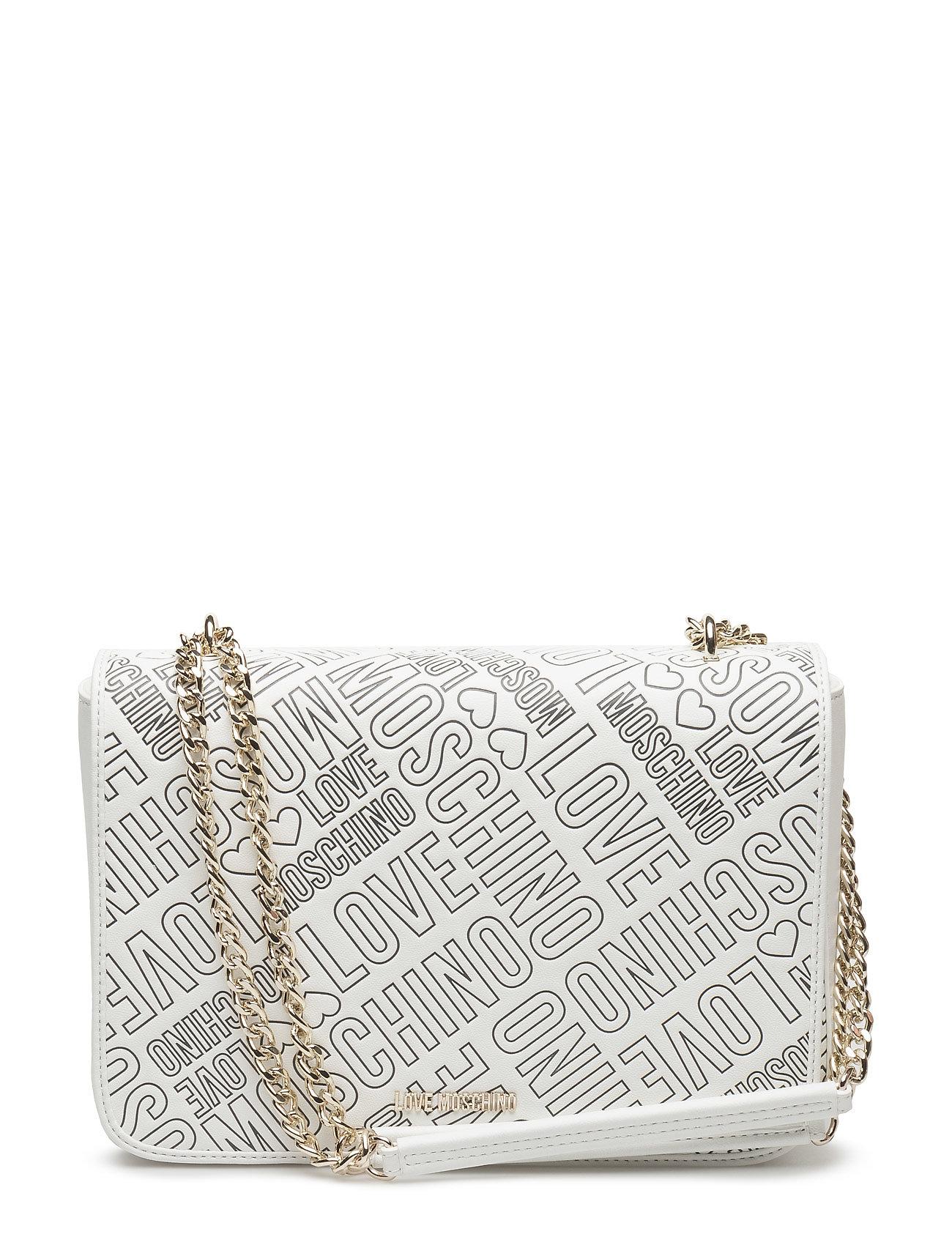 Love Moschino-Bag Love Moschino Bags Små tasker til Damer i hvid