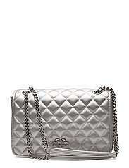 LOVE MOSCHINO-BAG - SILVER