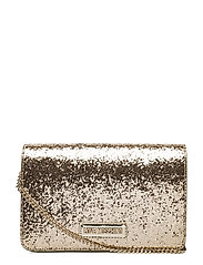 LOVE MOSCHINO-BAG - GOLD