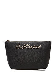 LOVE MOSCHINO-TROUSSE - BLACK