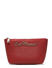 LOVE MOSCHINO-TROUSSE - RED