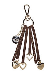LOVE MOSCHINO-KEYHOLDERS - BROWN