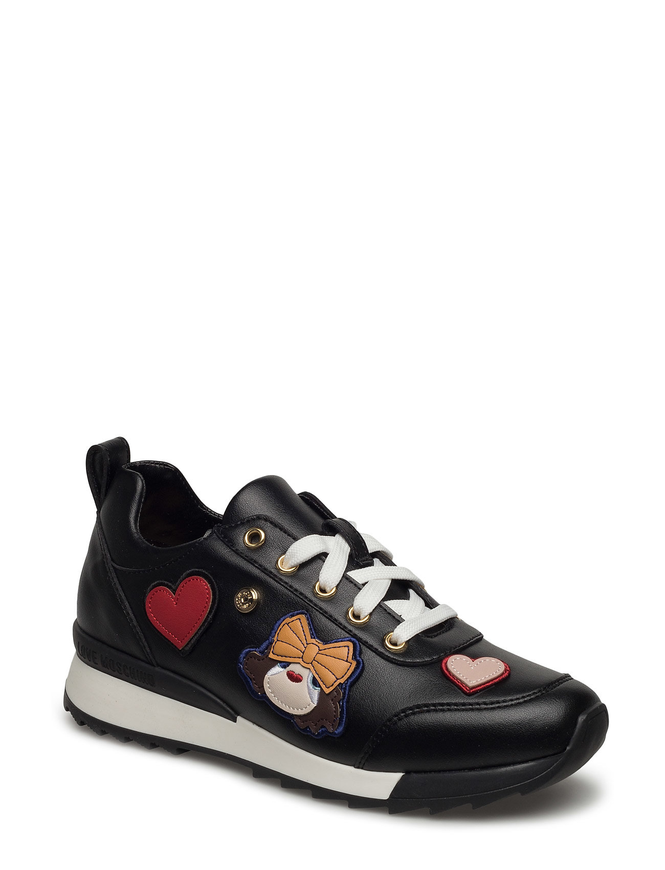 Love Moschino-Sneakers Love Moschino Sko til Kvinder i Sort