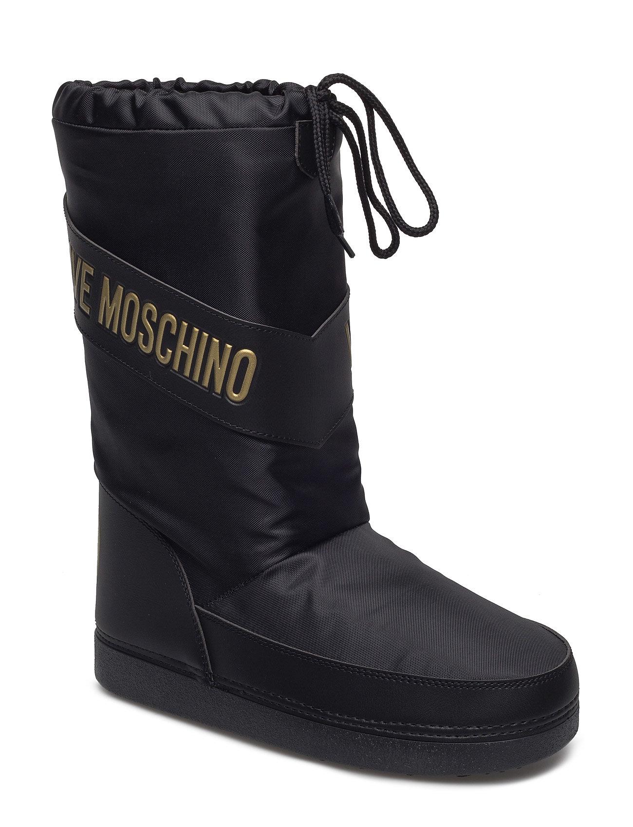 Love Moschino-Ankle Boot Love Moschino Støvler til Damer i Sort