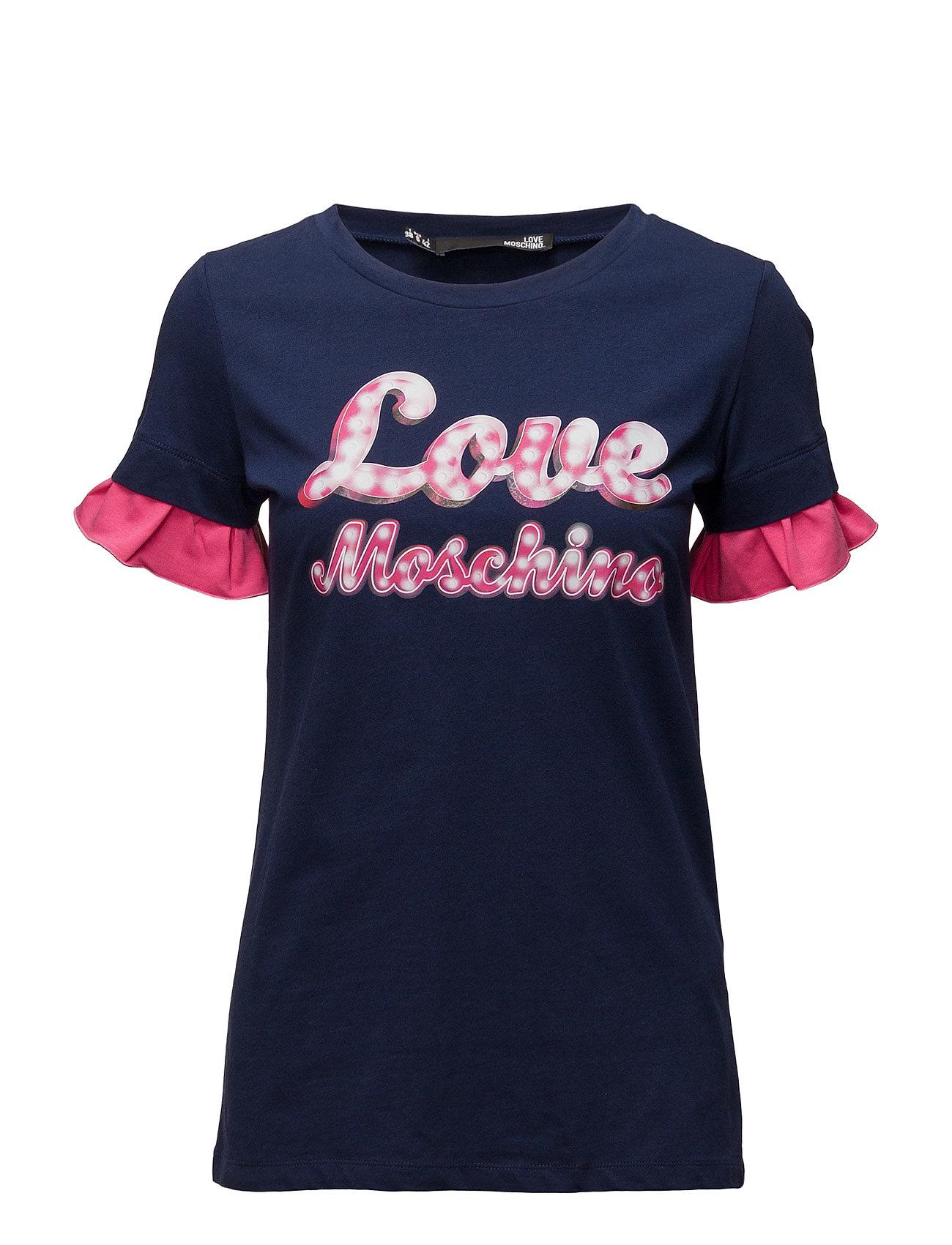 T-Shirt Love Moschino Kortærmede til Kvinder i Multi