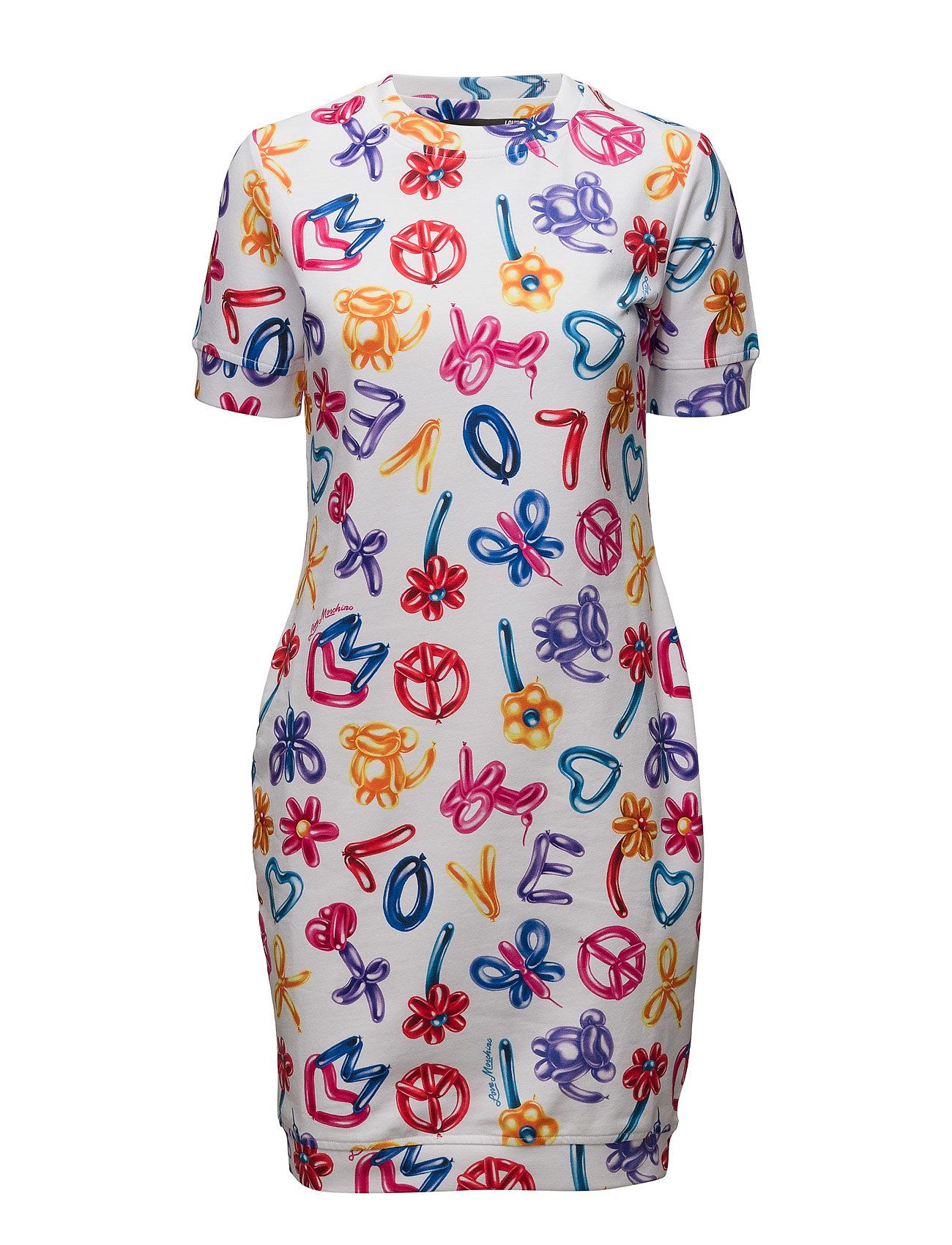 Dress Love Moschino Kjoler til Kvinder i hvid