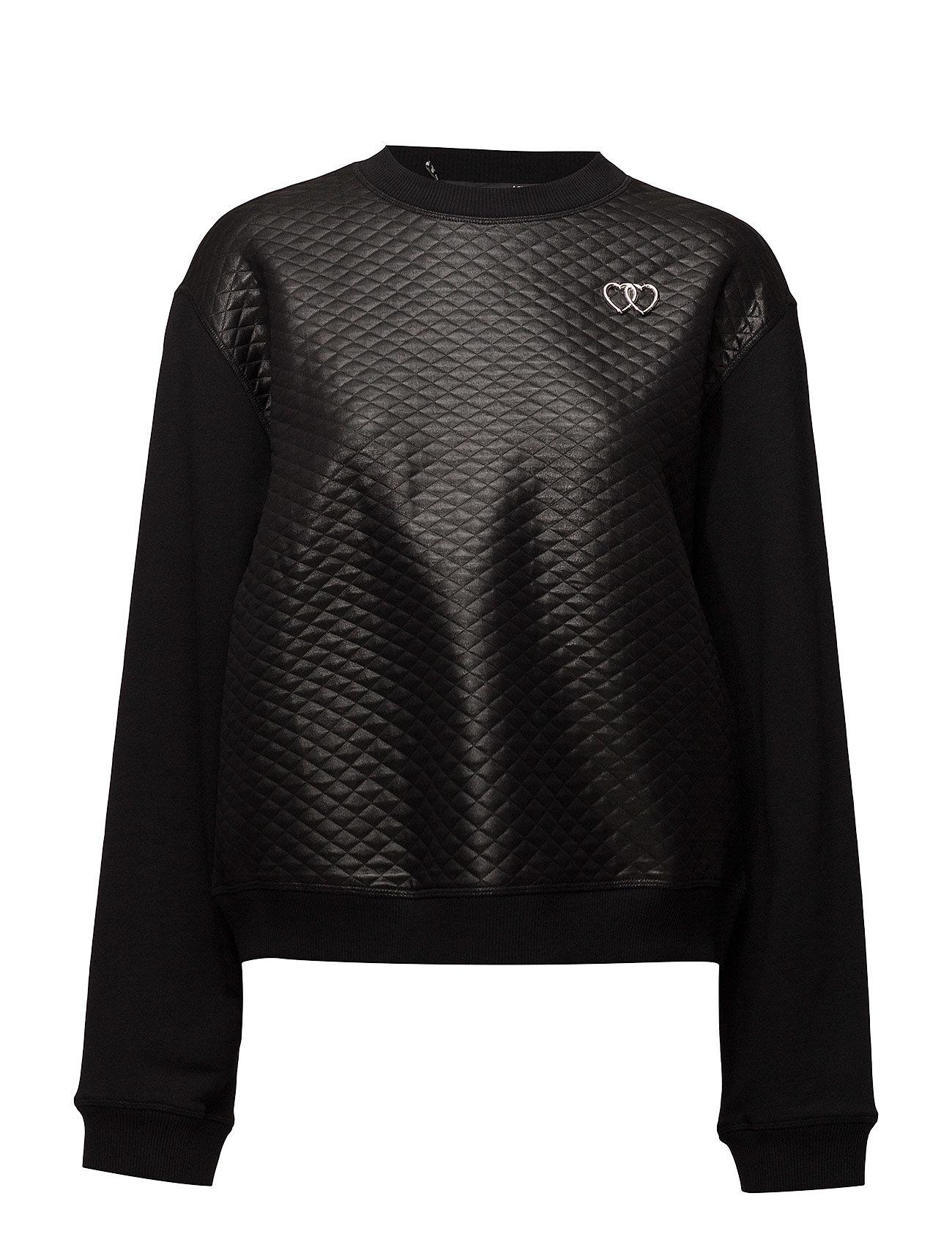 Love Moschino-Sweatshirt Love Moschino  til Damer i Sort