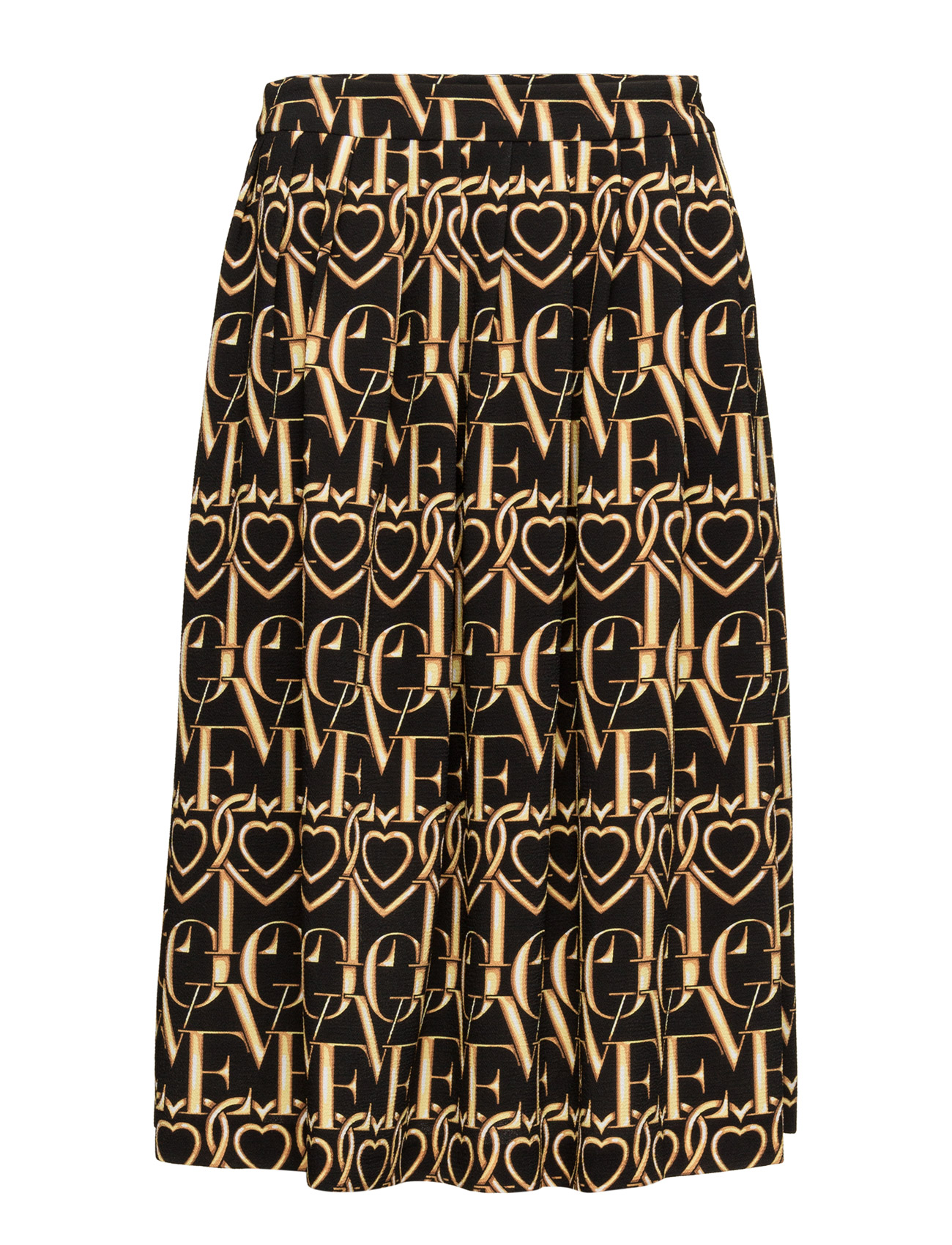 Love Moschino-Skirt Love Moschino Knælange & mellemlange til Damer i Multi Farvet