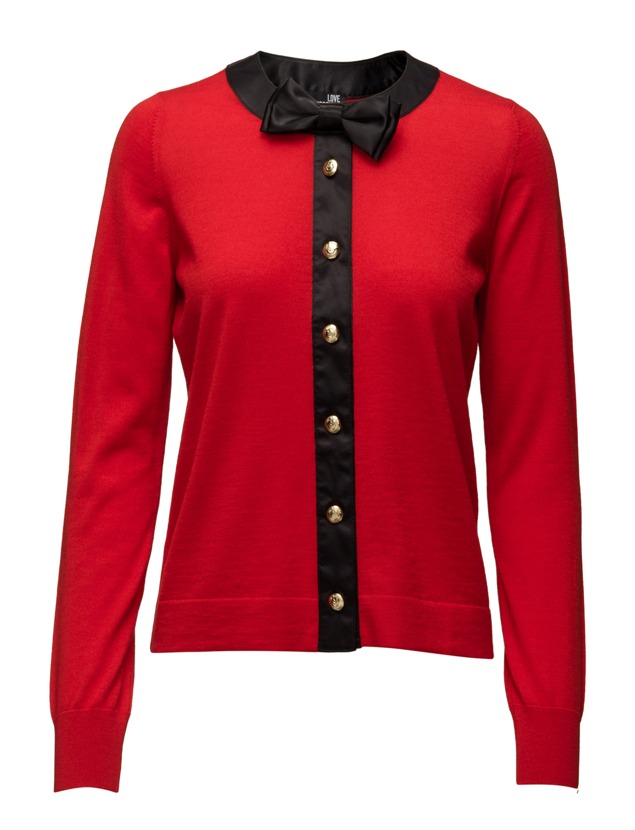 Love Moschino-Jacket Love Moschino Cardigans til Damer i Rød