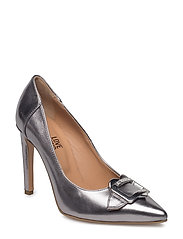 LOVE MOSCHINO-SHOE - SILVER