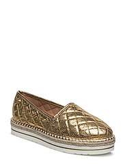LOVE MOSCHINO-SHOE - GOLD