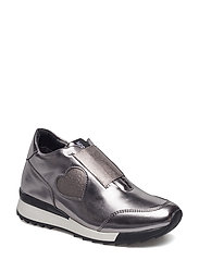 LOVE MOSCHINO-SNEAKERS - SILVER