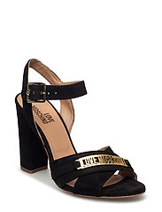 LOVE MOSCHINO-SANDAL - BLACK