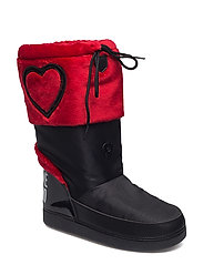 LOVE MOSCHINO-ANKLE BOOT - RED