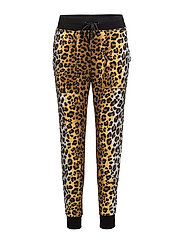 LOVE MOSCHINO-TROUSERS - PR.LEOPARD