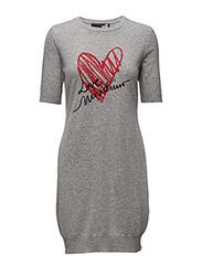 Love Moschino-DRESS - GREY
