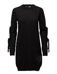 LOVE MOSCHINO-DRESS - BLACK