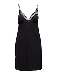 Flemming Slip Dress - BLACK KNIT