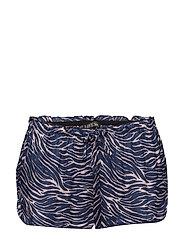 Audrey H Pyjama Sho - 809-ZEBRA BURNISHED LILAC